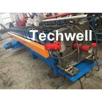 Wholesale 0-15m/Min Forming Speed Downpipe Machine, Rainspout Roll Forming Machine With Coil Thickness 0.4-0.6mm from china suppliers