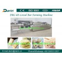 China Oatmeal Cereal Bar Making Machine , PLC Touch Screen Cereal Bar Shaping Machine on sale