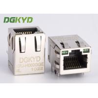 Wholesale 100 Base-t RJ45 jack with discrete transformer PCB Mount for Net Bridge from china suppliers