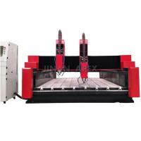 Wholesale Glass / Stone CNC Router Machine Seamless Welded Steel Structure Water Cooling Spindle from china suppliers
