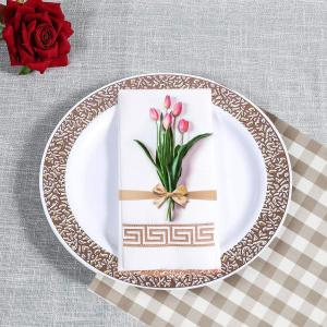 China Customized 1ply 12*17inch Airlaid Tablecloth Disposable on sale