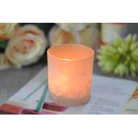 Gifts Tealight Glass Candle Holder Orange Romantic Heat Resisting