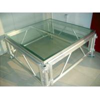 Buy cheap Transparent Plexiglass / Aluminum Stage Truss For Wedding And Swimming Pool from wholesalers