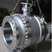 Wholesale Pneumatic Worm Gear Ball Valve , Metal Seated Ball Valves For High Temperature from china suppliers