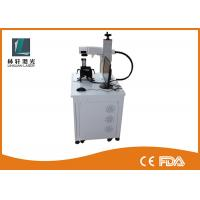 10 Watt 20 Watt Mini Fiber Laser Marking Machine For Stainless Steel Tag Printing