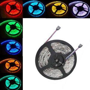China TOPIN 5M Waterproof SMD 5050 RGB Strip RGB LED Light Bar 150 LED+ Remotes on sale