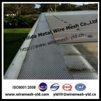 Small Hole Alucminum Guard Gutter Mesh For Roof Filter
