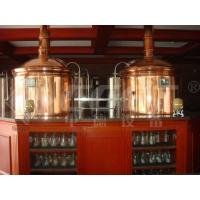 Wholesale Micro Hotel Beer Factory Machine Small Scale Brewing System 1000L 3mm Thickness from china suppliers