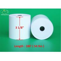 Wholesale 3 1/8 Cash Register Thermal Paper Rolls ATM Printing Paper For POS Printers from china suppliers