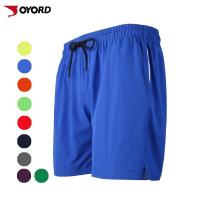 Wholesale Sports Mens Custom Beach Shorts Tropical Style Side Pockets Above Knee Length from china suppliers