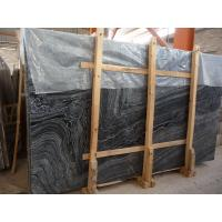 Wholesale Wooden black marble polished slab price , professional marble supplier with good quality from china suppliers