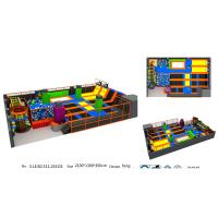 Wholesale Top Quality and Multi-function TUV Standard Children Trampoline Park with Foam Pit from china suppliers