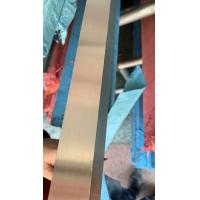 Quality 316L Stainless Steel Flat Bar SS Flat Bar TP316L Hairline Surface Bright for sale