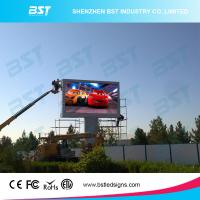 Buy cheap P6 Full Color Large Outdoor Advertising LED Display Video High Resolution product