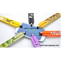 Wholesale Customized logo silicone slap bracelet band screen stylus pen from china suppliers