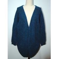 Buy cheap Womens Knitted Cardigan Long Knitted Coat Open Front With Two Pocket from wholesalers