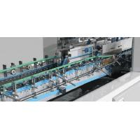 Quality ZH-1050M Automatic 4 6 corner folder gluer machine with higher liner speed for sale