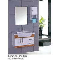 Wholesale pvc hanging/floating/wall-mounted bathroom vanity/bathroom cabinet from china suppliers