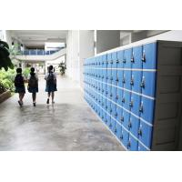 Wholesale ABS Material Keyless Plastic School Lockers 4 Comparts 1 Column Safety / Ventilation from china suppliers