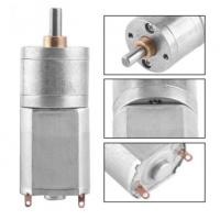 Buy cheap Mini High Torque High Speed DC Motor Electric Geared Reduction Motor Box from wholesalers