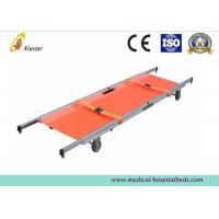 China First Aid Stretcher With 2 Folding Aluminum Alloy Emergency Rescue Stretcher ALS-SA106 on sale