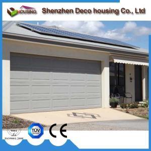 China Galvanized steel garage door on sale