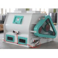 China High Efficiency Double Shaft Paddle Mixer For Animal Poutry Livestock Feed Production Line on sale