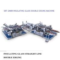 Wholesale Insulating Glass Straight Line Glass Processing Equipment Double Edging Machine from china suppliers