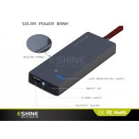 Buy cheap Full Capacity Portable Solar Power Bank / Solar Mobile Charger from wholesalers