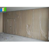 Wholesale Folding Partition Wall Acoustic Room Dividers Movable Partition Wall With Door from china suppliers