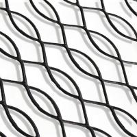 China Mild Steel Expanded Wire Mesh , Customized Expanded Metal Mesh For Fence on sale