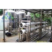 Wholesale High Efficiency Salt Water Treatment Systems Small Scale Desalination Plant from china suppliers
