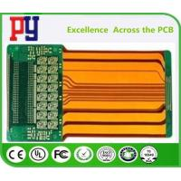 Quality Durable Rigid Flex PCB 4 Layer Polyimide Fr4 Base Material 4 MIL Hole Size for sale