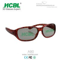 China leopard print frame beautiful dolby 3d glasses for 3D cienma and 3D TVs on sale