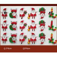 Wholesale Christmas Theme Santa Claus Chocolate Mould , Edible Decorations Custom Chocolate Molds from china suppliers