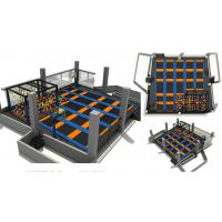 Wholesale 271M2 Fashion Design Middle Size  Multifunction Indoor Trampoline Park Guaranteed Quality Best Selling Trampoline Park from china suppliers