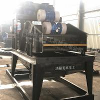 China Cement Sand Recycling Machine Black Color Stable Operation For Artificial Sand on sale