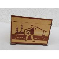 Wholesale Tarot Card Packaging Pine Wooden Storage Box With Lacquer Customized Logo from china suppliers