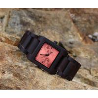 China Quartz Bamboo Wooden Wrist Watch Unisex Heart Rate Monitor Watch on sale