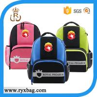 Buy cheap 3M reflective royal school bag from wholesalers