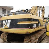 Long Reach Used Cat Excavator 320BL , Used Mini Diggers 800mm Shoe Size