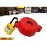 Wholesale ABS Material Red Gas Cylinder Tank Lock Out  Use for Valve Stem Hole 32MM from china suppliers