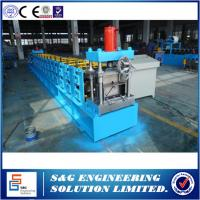 Wholesale China supplier used Fully automatic Interchange C/Z purlin roll forming machine in india manufacturers from china suppliers