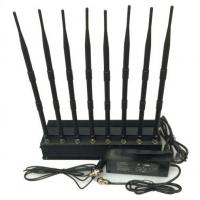 Wholesale Walkie Talkie Radio Jamming Equipment 8 Channels 20 Watt With Cooling Fan from china suppliers