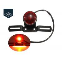 Wholesale Round Black Amber Metal Aftermarket Motorcycle Lights For ATV Dirt Bike Cafe Racer from china suppliers