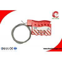 Wholesale Retractable Adjustable Stainless Steel Insulated Type Safety Cable Lockouts For Sale from china suppliers