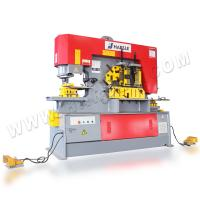Wholesale High Efficiency Metal Iron Worker Hydraulic Ironworkers With Double Cylinder Machine from china suppliers