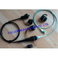 China Durable 8 cores OM3 10G Fiber Optic Patch Cord For FTTA , chemical resistance on sale