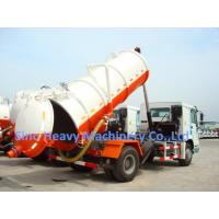 10M3 4X2 Sewage Suction Truck ZF8098 , 371HP Sewage Vacuum Truck Manufactures