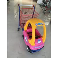 Wholesale Metal Kids Shopping Carts , Kids Shopping Trolley Travelator Casters CE / GS / ROSH from china suppliers